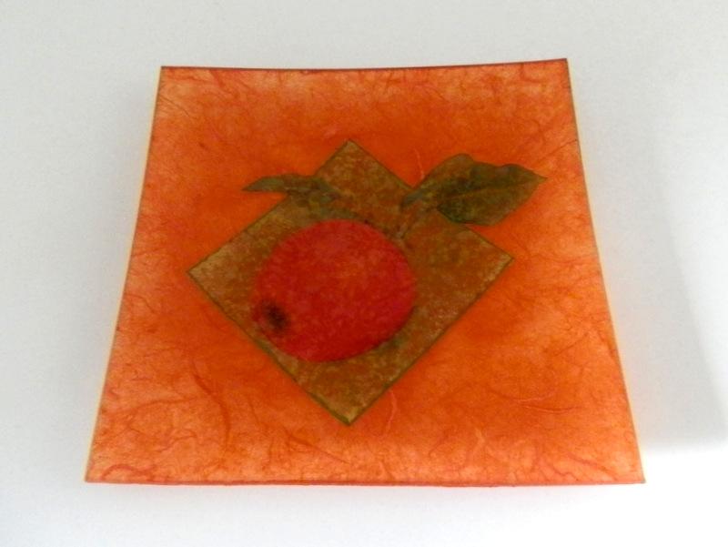 Dekorativen krožnik Apple